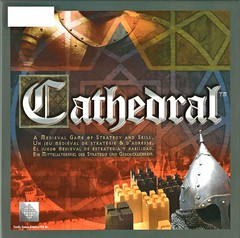 Cathedral:  a Medieval Game of Strategy and Skill (Vernon Barford School Library) Tags: cathedral cathedrals familygamesamerica boardgames games tabletopgames strategy strategic logic wood wooden medieval buildings 2playergame gamesfortwoplayers vernon barford library libraries new recent junior high middle school 086453006073