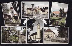 Postkarte / Deutschland (micky the pixel) Tags: postkarte postcard ephemera multiview deutschland germany leutkirchimallgäu westallgäu badenwürttemberg