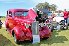 1936 Chevrolet Master Deluxe 2 Door Sedan (StevenM_61) Tags: carshow car automobile chevrolet chevy 1936 sedan customcar beverlyhills florida unitedstates