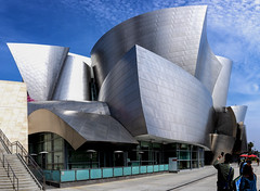 Walt Disney Concert Hall Stitch (evwingate) Tags: california southern socal walt disney concert hall los angeles downtown la dtla wdch frank gehry curves architecture