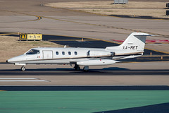 Learjet 25D (DPhelps) Tags: kdal dal dallaslovefield airport texas dallas aircraft airplane plane jet aviation lj25 lear 25 xamet cj610 mexico mexican 25305