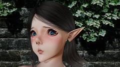 kind heart (Lennik232) Tags: linachan lennik poser cute kawaii fantasy elves longears pose 3d 3dart 3dfantasy