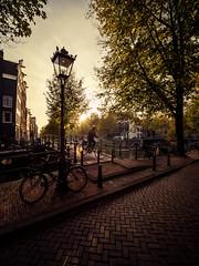 PB042111 (rpajrpaj) Tags: amsterdam canals city cityscape sunset