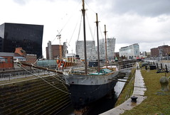 Liverpool (DarloRich2009) Tags: nationalregisterofhistoricvessels dewadden albertdock royalalbertdock mersey merseyside rivermersey liverpool water dock quay quayside pierhead