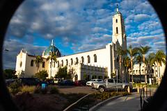 The Immaculata (Söki) Tags: church university san diego california clouds sun blue sky immaculata