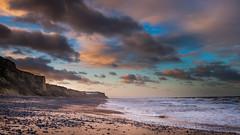 Winter sunset over Cromer cliffs (dpowley65) Tags: norfolkcoast clouds sunset beach cromer
