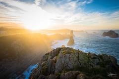 Goodbye autumn, see you next year! (PiTiS ¬~) Tags: coast costa atardecer sunset mar sea light luz sol sun seascape liencres cantabria sky cielo contraluz nikon nikonistas