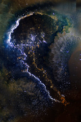 Fake Space (dedalus11) Tags: macro makro makroaufnahme space achat mineral weltall nahaufnahme tamron dark matter stone gem