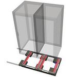 免震装置の写真