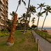 Beachwalk Kaanapali beach Maui Hawaii
