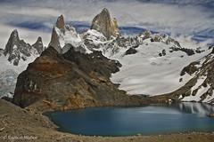 DSC0233 La laguna de los Tres y el macizo del Fitz Roy, Andes patagónicos, Argentina (Ramón Muñoz - Fotografía) Tags: los andes argentina el chalten fitz roy patagonia montañas de parque nacional glaciares