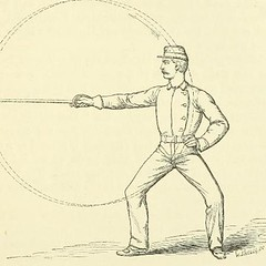 This image is taken from Page 31 of A new system of sword exercise for infantry [electronic resource] (Medical Heritage Library, Inc.) Tags: gymnastics exercise martial arts military personnel wellcomelibrary ukmhl medicalheritagelibrary europeanlibraries date1876 idb20419569