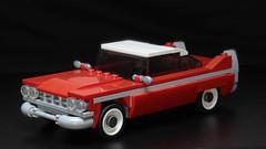 Lego Christine (Plymouth Fury) moc (hachiroku24) Tags: lego plymouth fury christine movie car moc instructions tt p n