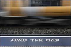 Mind the Gap (Garry Corbett) Tags: mindthegap railwaystation railway motion train tiptonstation cgarrycorbett2018 bluejazzbuddha
