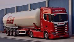 D - Michels >Silog< Scania NG S500 HL (BonsaiTruck) Tags: michels silog ffb feldbinder scania ng lkw lastwagen lastzug silozug truck trucks lorry lorries camion caminhoes silo bulk citerne powdertank
