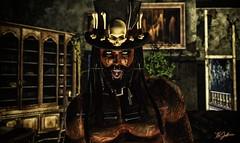 Voodoo King (Uri Jefferson) Tags: sl secondlife voodoo avatars creepy drd cx