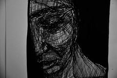 Horhizome 01 (onesecbeforethedub) Tags: vilem flusser technical images vassilis galanos onesecbeforetheend onesecbeforethedub onesecaftertheend black white blackandwhite whiteandblack whiteblack blackwhite sketch faces face woman girl art artistic artist quickart quickdraw quicksketch scribble