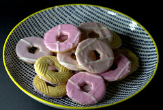 Iced Party Rings (Tony Worrall) Tags: add tag ©2018tonyworrall images photos photograff things uk england food foodie grub eat eaten taste tasty cook cooked iatethis foodporn foodpictures picturesoffood dish dishes menu plate plated made ingrediants nice flavour foodophile x yummy make tasted meal nutritional freshtaste foodstuff cuisine nourishment nutriments provisions ration refreshment store sustenance fare foodstuffs meals snacks bites chow cookery diet eatable fodder ilobsterit instagram iced party rings sweet sugar color kids candy