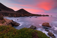 There's a sunrise and a sunset every single day, and they're absolutely free. Don't miss so many of them… (ferpectshotz) Tags: garrapattastatepark soberanespoint spoeranespointtrails rockyridgetrail bigsur carmel coast pacificcoastroad pacificcoast caroute1 california color pink red clouds twilight sunrise beauty naturetrails hills path rural landscape nature
