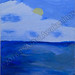 """""""Day at the Sea"""" by Susanna H, acrylic, $25.00"""