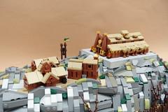 Edoras (-Balbo-) Tags: lego moc herr der ringe lordoftherings micro bauwerk creation hobbit lotr hdr edoras rohan theoden