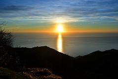 A Christmas Sunset (ema_leo) Tags: riomaggiore cinqueterre laspezia italy sunset tramonti sea mare colors