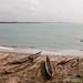 The shore at Elmina