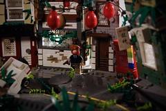Tokyo 2049 東京 ([E]ddy) Tags: lego postapoc postapocalyptic apocalyptic scene toy art artist brick bricks legobricks minifigures minifigs minifigure minifig moc tfol afol tokyo 2049 legoscene plants truck vendingmachine photography legography