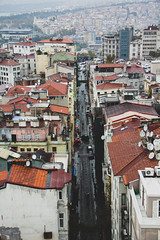View of Istanbul from the Top of Galata Tower (Ketan Pandit) Tags: culture asia travel shoots photography iphone architecture history canon europe turkey istanbul cats palace sultan bosporous tourist pandits istiklal