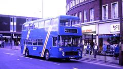 Slide 125-48 (Steve Guess) Tags: wakefield west yorkshire england gb uk bus station westriding bristol vrt ecw driver training