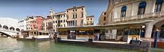 15 (ERREGI 1958) Tags: canale canal grande venezia rialto ponte brucke bridge italia italy veneto acqua fermata vaporetto water bus battello lagunare public transport trasporto pubblico venice