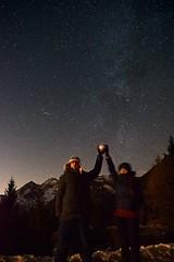 Photobomb of a Quadrantid! 🌠 (Martib97) Tags: milkyway stars quadrantid meteor meteora alps alpi italy italia bergamo astronomy stargazing telescope sky night astrometrydotnet:id=nova3159176 astrometrydotnet:status=solved