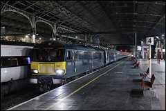 Preston, SR 92023 3Z26 (London Euston - Glasgow Central) 22/01/19. (DigitAL46232) Tags: preston caledoniansleeper cafmk5sleepers caf