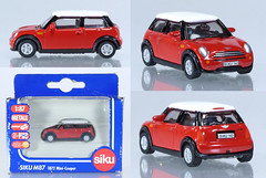 SIK-1872-Mini (adrianz toyz) Tags: siku diecast toy model car adrainztoyz bmw mini new cooper 187 scale 1872
