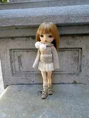 Winter beauty (feltland) Tags: feltland maskcatdoll handmade knitting crochet outfit kawaii doll muñeca boneca