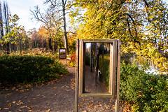 Selfie (Maria Eklind) Tags: garden autumn gothenburg göteborg trädgårdsföreningen sweden selfie flower höst city västragötalandslän sverige se