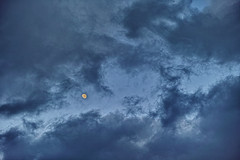 20190118_DP3M4401 (NAMARA EXPRESS) Tags: landscape nature sky cloud moon gray evening twilight sunset winter fine outdoor color toyonaka osaka japan spp spp661 foveon x3 sigma dp3 merrill namaraexp