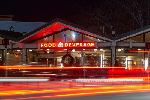 Woodford Food & Beverage  Exterior, 660 Forest Ave, Night 1