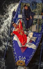 Entrepreneurs at Work (keith_shuley) Tags: nile entrepreneur rowboat salesmen river egypt