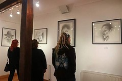 My drawings currently hanging in the #ThatsLife exhibition at the Norman Cross Gallery, can be seen until 9th February 2019 @normancrossgallery #Peterborough #drawings #exhibition #legends #marilynmonroe #robinwilliams #JimiHendrix #iamwill always somethi (Tony Nero) Tags: artoftonynero tony nero art peterorough cambridgeshire creative out about craft paintings