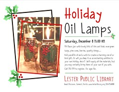 Holiday Oil Lamps
