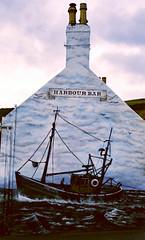 Harbour Bar Wall Art (red.richard) Tags: gourdon wall art trawler pub harbour bar
