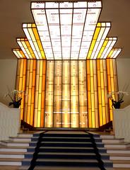 Dax, Landes, Splendid Hôtel: escalier avec verrière signée Genet et Michon (thème de février). (Marie-Hélène Cingal) Tags: dax aquitaine acqs akize dacs nouvelleaquitaine landes 40 sudouest france
