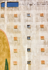 'Five Stories' (Canadapt) Tags: building facade window wall pattern design decay urban costadacaparica portugal canadapt