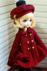 [It's our Secret] Winter coat set+gift! (住在北極圈的貓) Tags: volks sd13 sd16 msd sd10 bjd outfit dd mdd