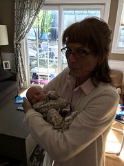 "Aunt Pam Holds Sam • <a style=""font-size:0.8em;"" href=""http://www.flickr.com/photos/109120354@N07/46385294532/"" target=""_blank"">View on Flickr</a>"