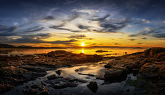 Cabo de Cruz (Noel F.) Tags: sony a7r a7rii ii fe 24105 panorama cabo de cruz barbanza sunrise mencer galiza galicia ria arousa