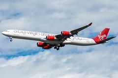 G-VNAP - Virgin Atlantic - Airbus A340-600 (John Klos) Tags: a340 a340600 a340642 airbus airbus340 cedarhurst gvnap jfk jfkintlairport jfkinternationalairport johnklos kjfk kteb longisland newjersey newyork nikkor70200mmf4gvr nikon nikonafstc17eii nikond7200 teb teterboro teterboroairport virginatlantic abigvirginatlanticthankyou aircraft aircraftspotting airline airplane airplanespotting aviation jet specialscheme spotting winglets lawrence unitedstates us