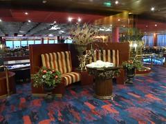 Caribbean Sea, Day 7 -- Caribbean Cruise Vacation, Holland America's Veendam, Entrance to Main Dining Room (Mary Warren 12.9+ Million Views) Tags: caribbean cruise hollandamerica veendam diningroom sofa furniture