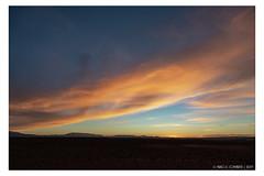 Cloudy sunset (Mirko Daniele Comparetti) Tags: ma marocco morocco azzurro blue cielo clouds marrakechexpress2019 nuvole sabbia sand sky sunset tramonto